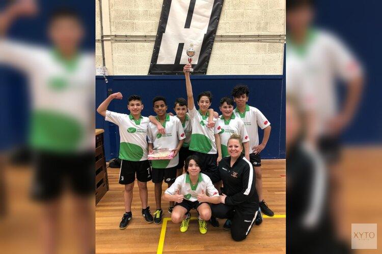Jules Verne wint scholenbasketbaltoernooi 2020