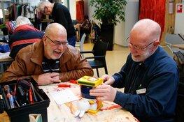 Repair Cafés in verschillende wijkcentra van Stichting Netwerk