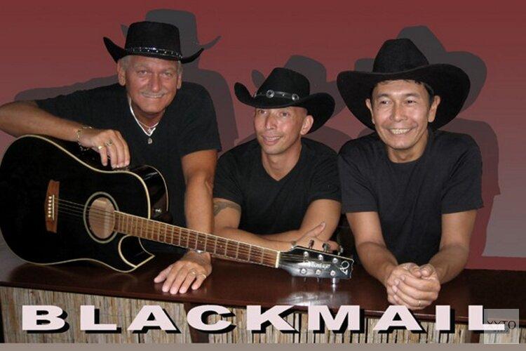 In de Witte Valk treed op: Blackmail