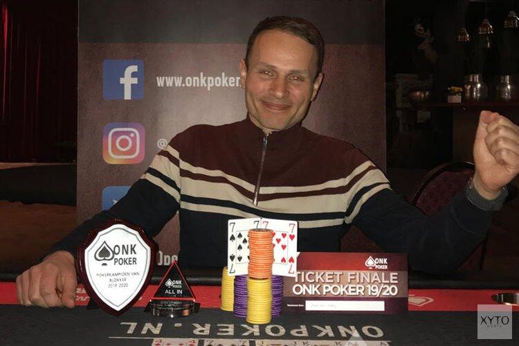 Stanley Kooij is de Pokerkampioen van Blokker 2019/2020