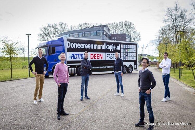 Het is de Hoornse ondernemers gelukt: eerste 100.000 mondkapjes verdeeld over ziekenhuizen
