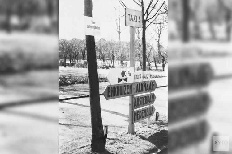 Online onthulling plaquette voor Hoornse Joden
