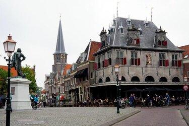 Grotere terrassen in Hoorn