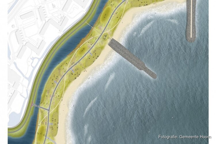 Nieuwe stap in ontwikkeling stadsstrand Hoorn