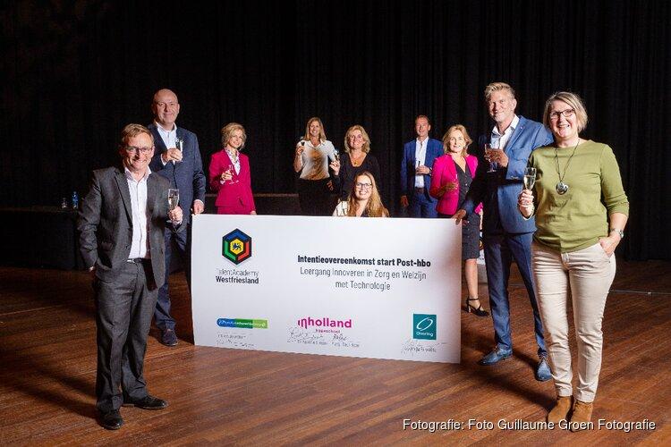 Zorgaanbieders halen eerste post-hbo opleiding naar Westfriesland