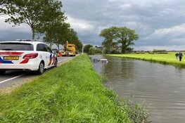 Auto te water in Berkhout