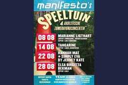 Manifesto's Speeltuin  (Zomeravonden concerten in de Speelhoorn)