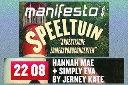 Manifesto's Speeltuin met Hannah Mae en Simply Eva by Jerney Kate
