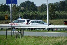 Gewonde bij eenzijdig ongeval op Westfrisiaweg bij Zwaag