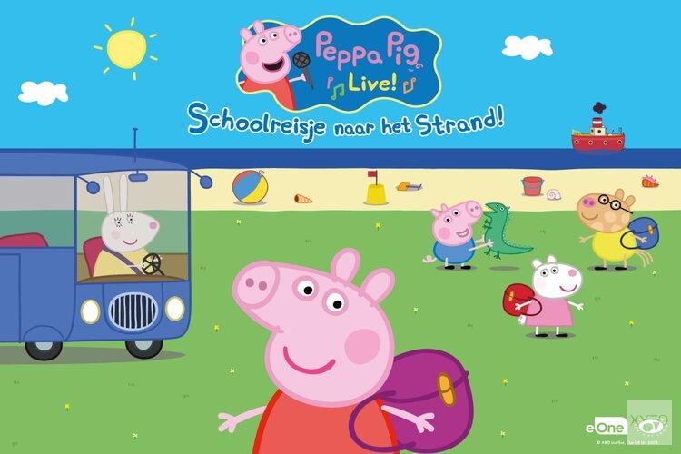 Peppa Pig Live! - Schoolreisje naar het Strand