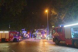 Uitslaande brand bij Turkse bakkerij in Hoorn