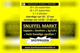 Snuffelmarkt in Bonifaciuskerk Medemblik