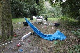 Illegaal feestje in Julianapark?