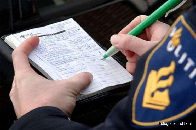 Bijna zeshonderd bekeuringen tijdens verkeerscontroles