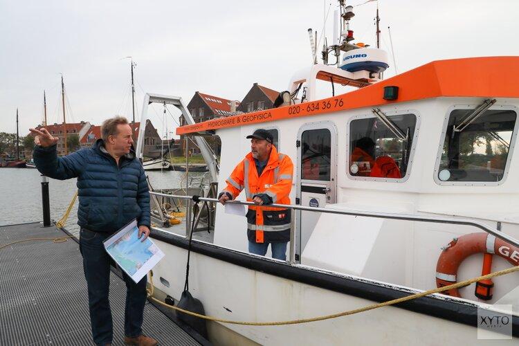 Archeologisch onderzoek op bodem Hoornse Hop legt maritieme historie bloot