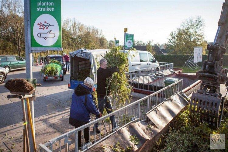 Afvalbrengstation ook op zondag open