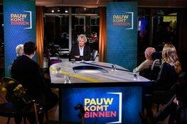 Pauw komt binnen vanuit verpleeghuis Lindendael in Hoorn zondag 22 november op NPO1 rond 22.15 uur