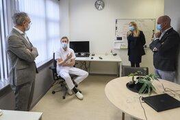 Bezoek Covid-afdelingen Dijklander ziekenhuis