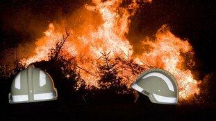 Kerstboomverbranding op zaterdag 6 januari