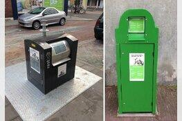 Ondergrondse afvalcontainers in de binnenstad van Medemblik