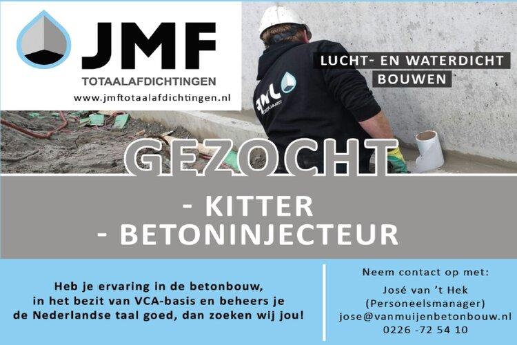 JMF Totaalafdichtingen zoekt..
