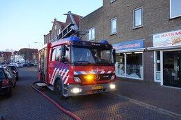 Woningbrand binnenstad van Hoorn