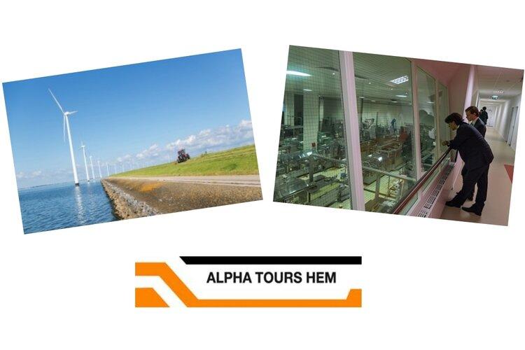 Op 14-03-2018 met ALPHA TOURS  naar Nagele en Almere.