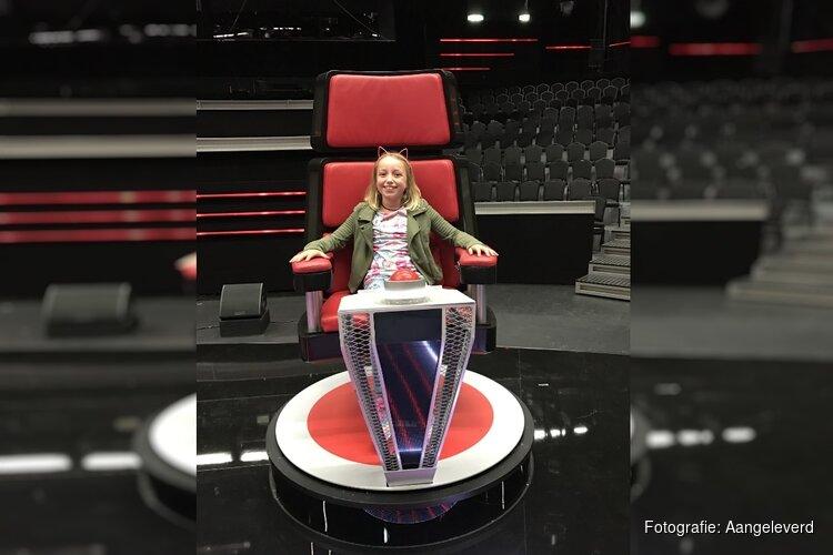 Tienjarige Cloë komende vrijdag in The Voice Kids