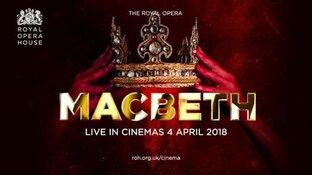 Verdi's MacBeth, uitgevoerd door The Royal Opera House en Live te zien bij Vue Hoorn