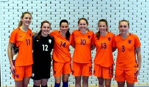 Noordhollandse talenten in Oranje-beloftenteam zaal