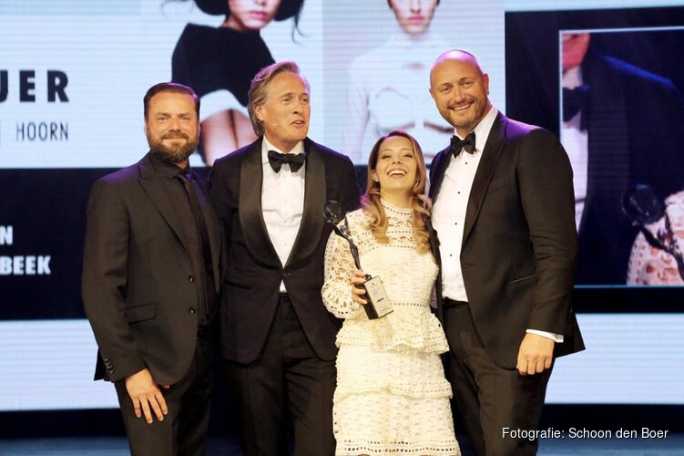 Romy Meijer van Bob Janssen Haar & Make-up uit Hoorn wint Coiffure Young Talent Award