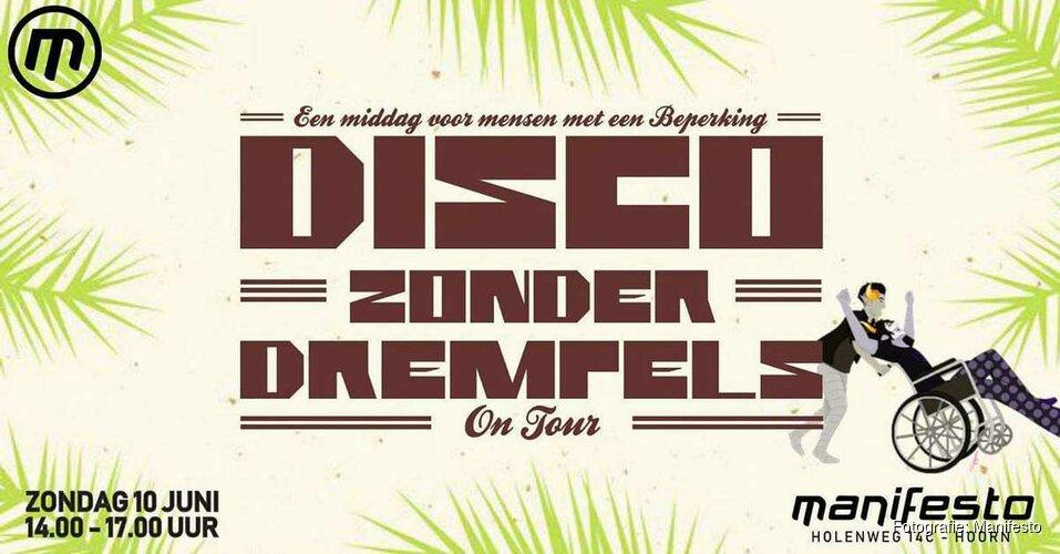 Van Snelle en Disco zonder Drempels in Manifesto