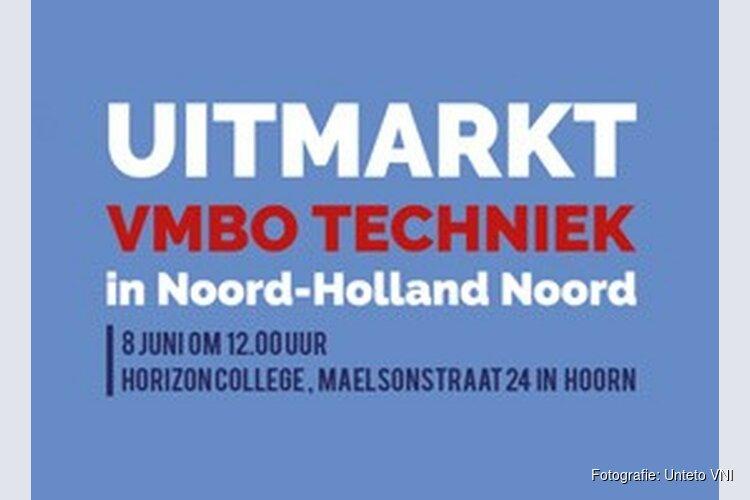 Uitmarkt VMBO Techniek in Horizon College Hoorn