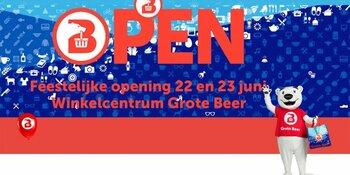 Feestelijke Opening 22 en 23 juni Winkelcentrum Grote Beer