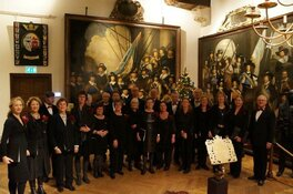Hoorns kamerkoor zingt in Westfries Museum