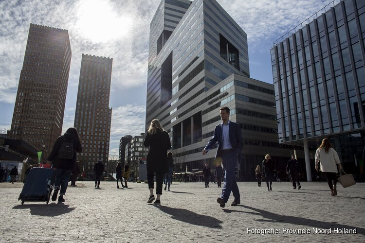 Amsterdam blijft banenmotor van Noord-Holland