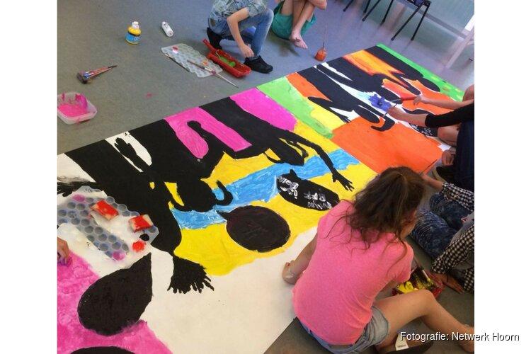 Uitnodiging 10 juli 19.00-21.00 uur kunstwerk door jongeren in De Kreek