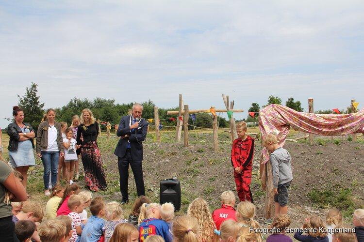 feestelijke opening natuurspeeltuin 'Buitenholle' Berkhout