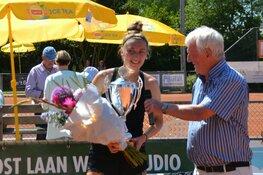 Eleveld en Boonstra zegevieren tijdens het Boekweit/Olie Tennis Toernooi