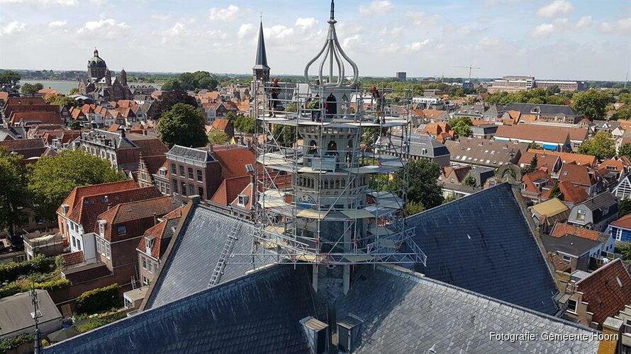 Restauratie toren Oosterkerk begonnen