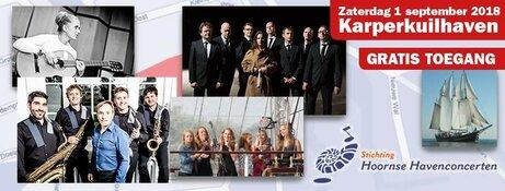 Hoornse Havenconcerten op zaterdag 1 september
