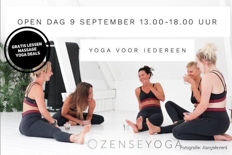 Yogaschool Zense Yoga viert vijfjarig bestaan