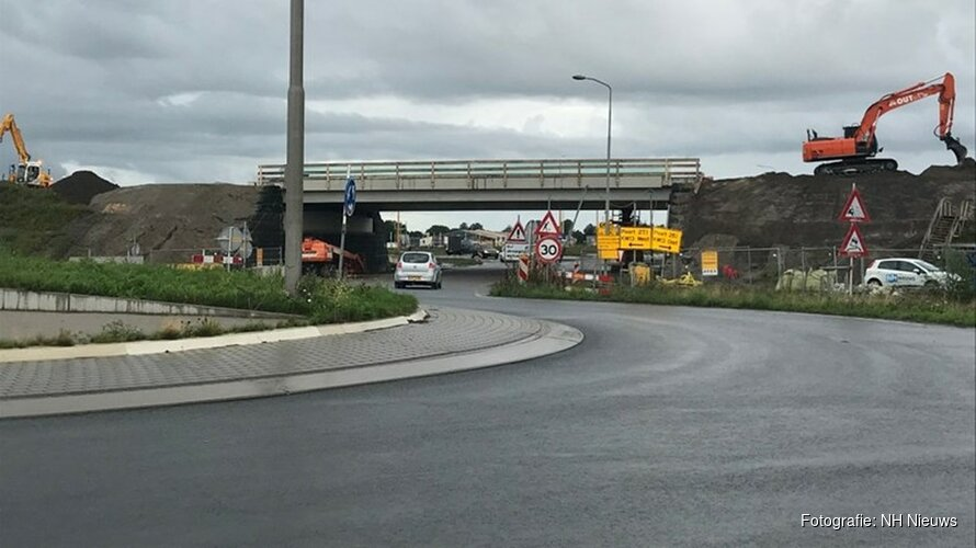 Laatste fase werkzaamheden Westfrisiaweg: in december opent nieuwe N23
