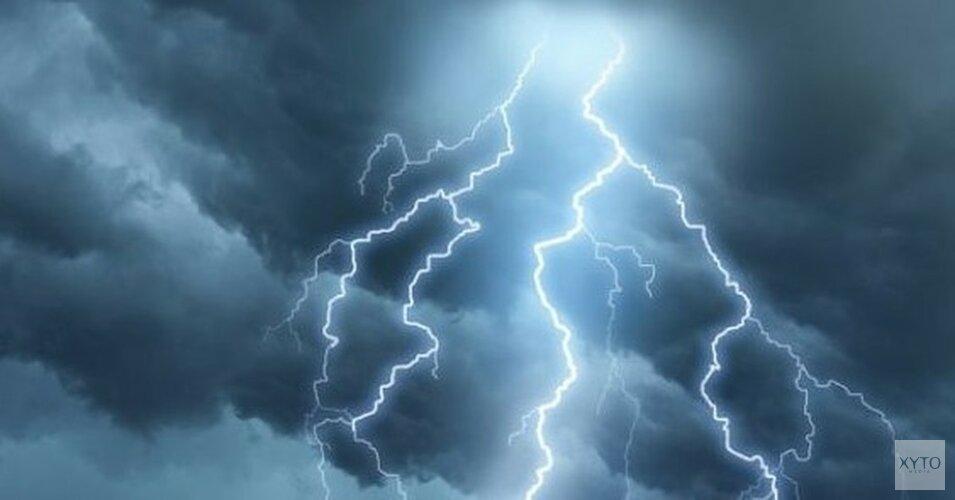 Code geel: KNMI waarschuwt voor zware onweersbuien